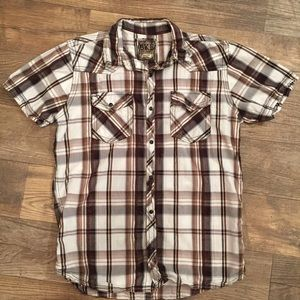 BKE SLIM FIT Men's Shirt Size Large